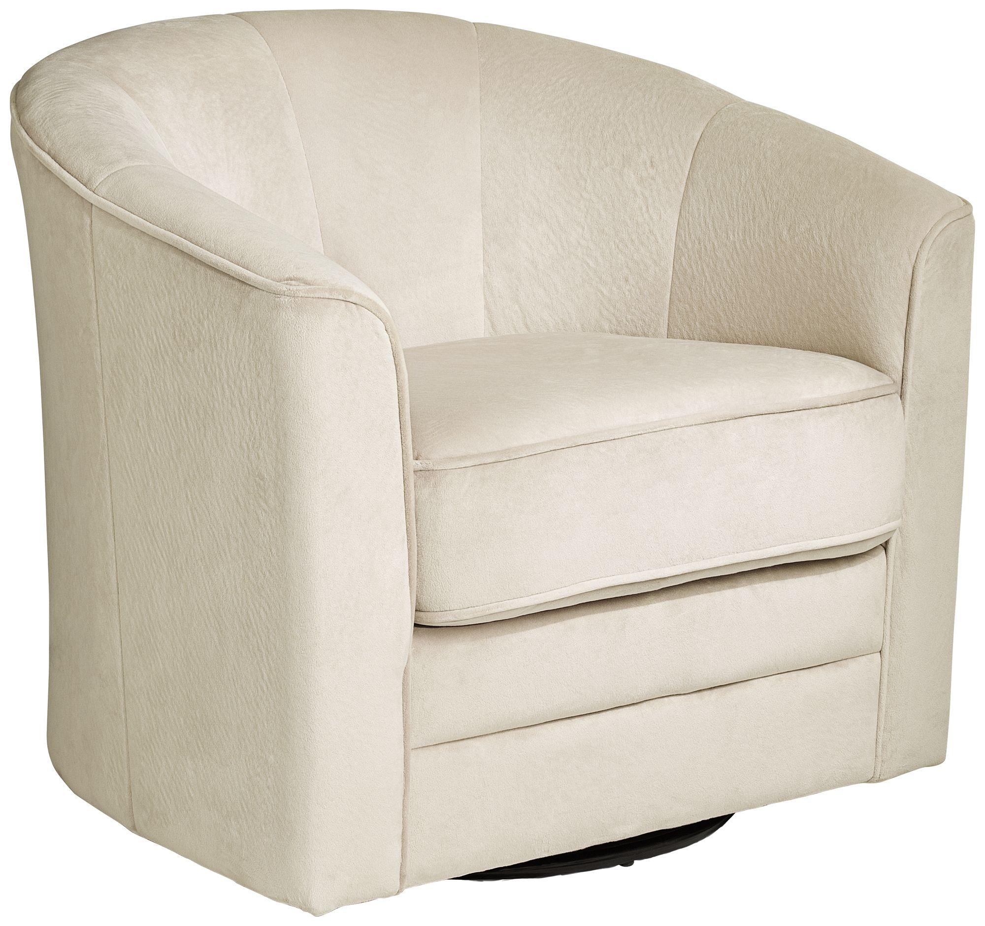 Keller Argos Muse Off White Swivel Chair
