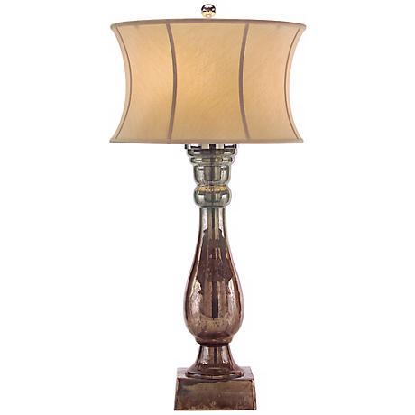 John Richard Hand-Blown Glass Table Lamp
