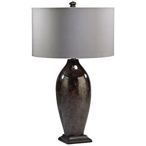 Sawyer Ceramic Brown Table Lamp