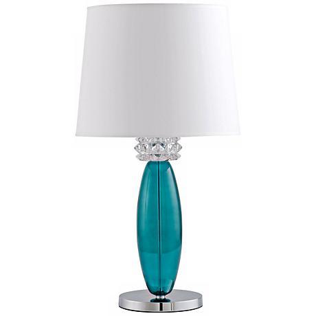 Vivien Turquoise Table Lamp