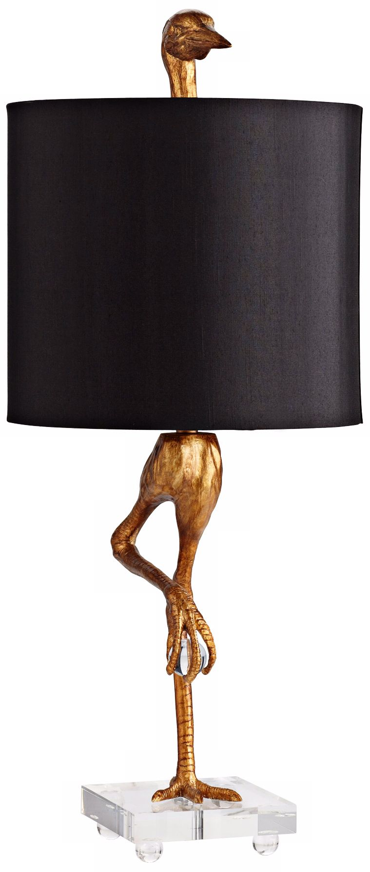 Gold Ibis Table Lamp