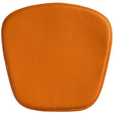 Zuo Modern Wire/Mesh Orange Seat Cushion
