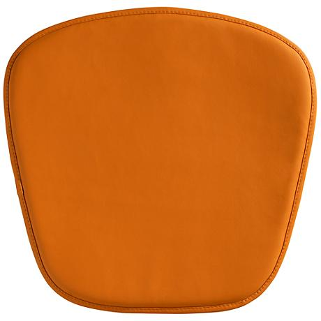 Zuo Modern Wire/Mesh Orange Seat Cushion