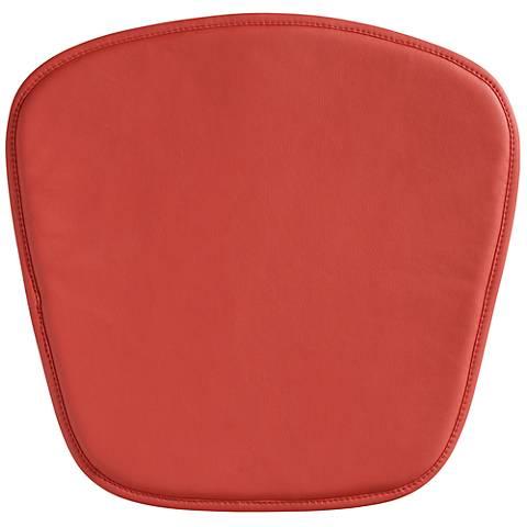 Zuo Modern Wire/Mesh Red Seat Cushion