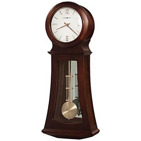"Howard Miller Gerhard 26 3/4"" High Chiming Wall Clock"