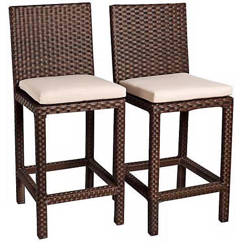 Poitiers Set of 2 Barstools