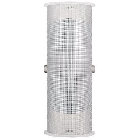 """LBL Presidio Wet Steel 15 1/2"""" Outdoor Wall Light"""