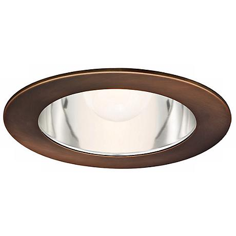 "WAC 6"" Downlight Clear Reflector Copper Recessed Trim"