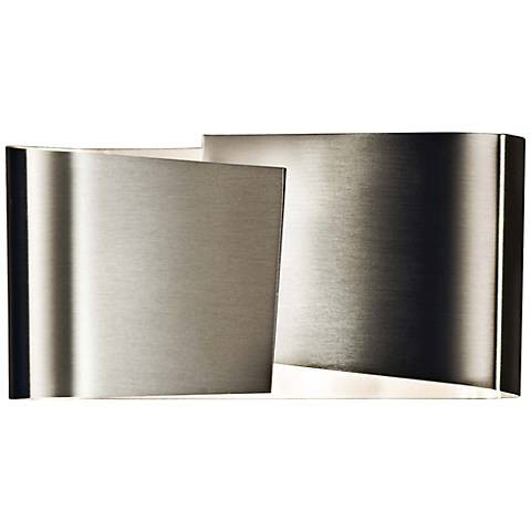 "Holtkoetter Filia 4"" High Stainless Steel Wall Sconce"
