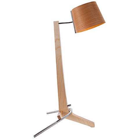Cerno Silva Baltic Birch and Beech LED Table Lamp
