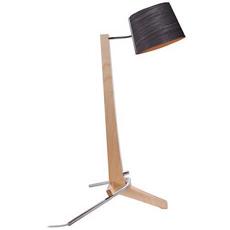 Cerno Silva Baltic Birch and Ebony LED Desk Lamp