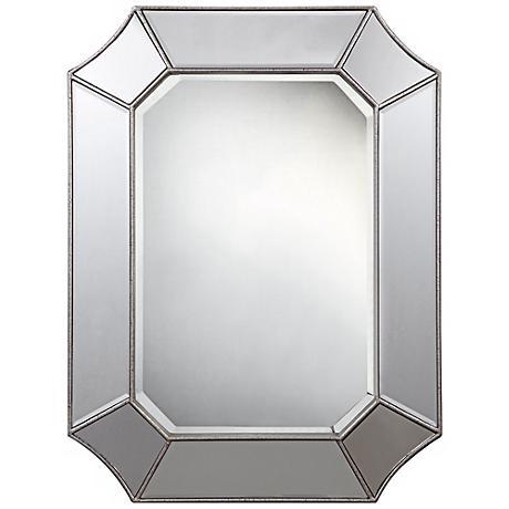 """Cooper Classics Nelson 32"""" High Rectangular Wall Mirror"""