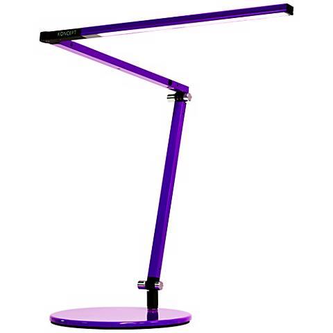 Koncept Gen 3 Z-Bar Mini Warm Light LED Desk Lamp Purple