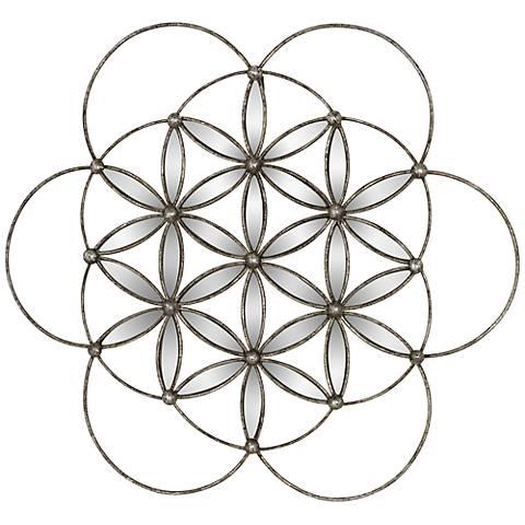 "Balano 30 1/4"" Round Spiral Wall Art"