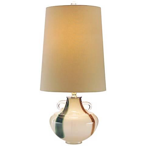 John Richard Tri-Color Blown Glass Table Lamp