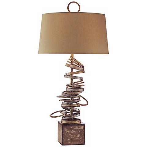 John Richard Iron Ring Table Lamp