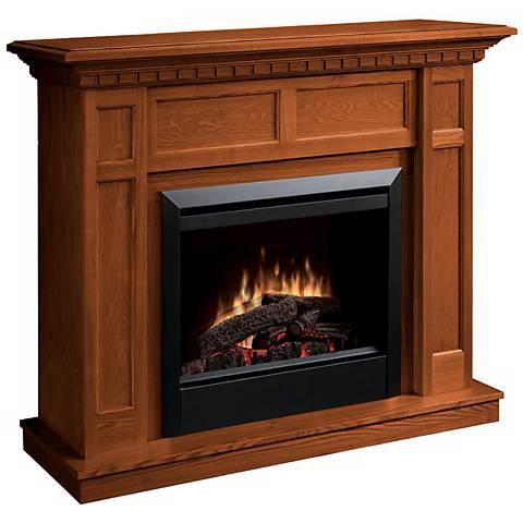 Dimplex Caprice Warm Oak Electric Fireplace