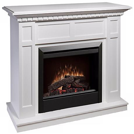 Dimplex Caprice White Electric Fireplace