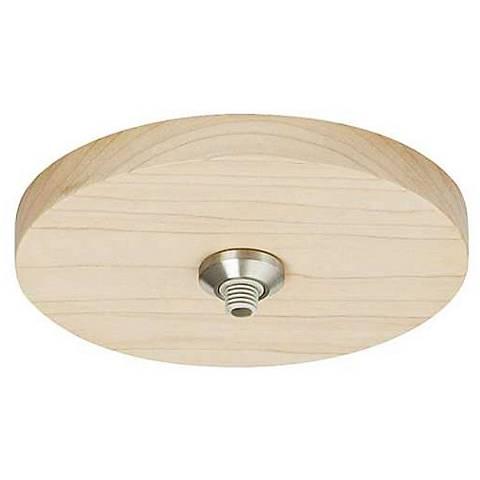 "Tech Lighting Freejack Maple Wood 4"" Round Flush Canopy"