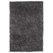 "Belize BZ100 Gray 105 5'x7'6"" Shag Area Rug"