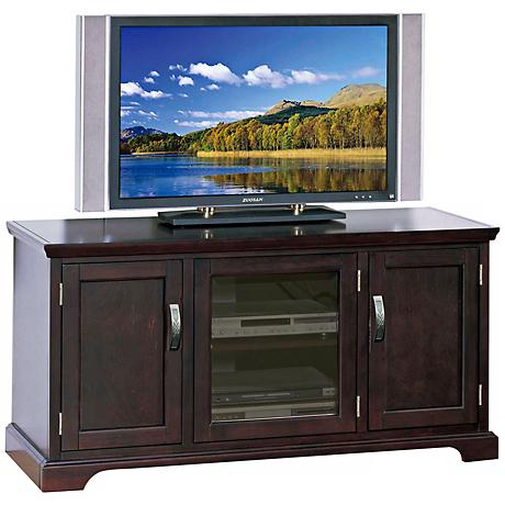 Leick Furniture Chocolate Cherry TV Stand