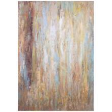 "Uttermost Raindrops 70"" High Canvas Wall Art"
