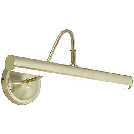 """Renaissance 16"""" Wide Brass LED Picture Light"""