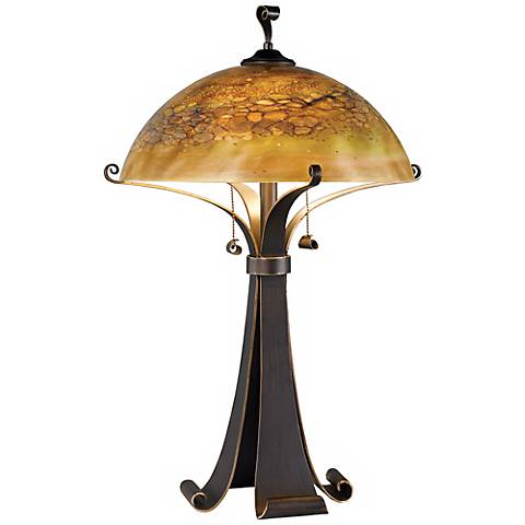 Kenroy Home Santa Fe Chocolate Table Lamp