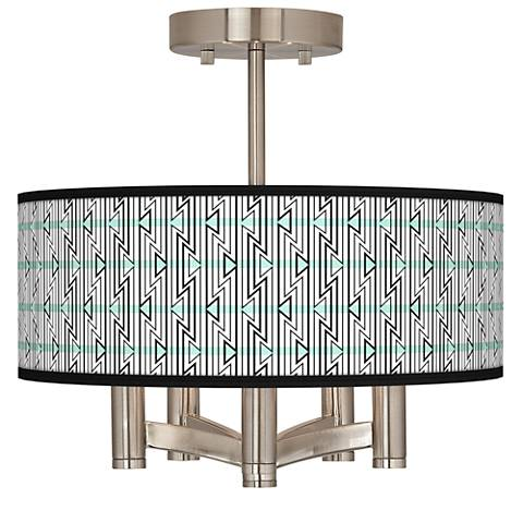 Indigenous Ava 5-Light Nickel Ceiling Light