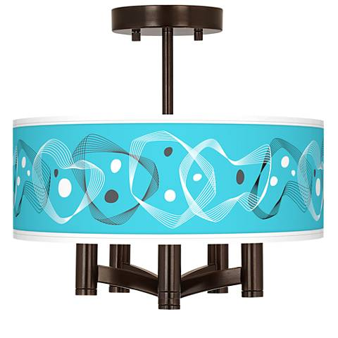 Spirocraft Ava 5-Light Bronze Ceiling Light