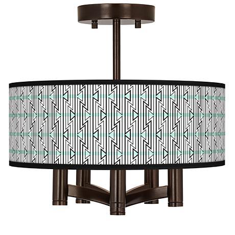 Indigenous Ava 5-Light Bronze Ceiling Light