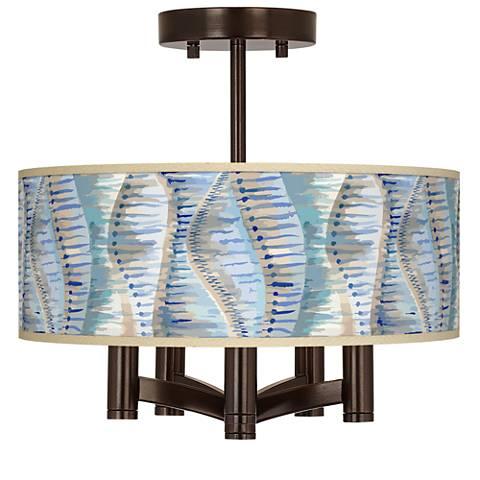 Siren Ava 5-Light Bronze Ceiling Light