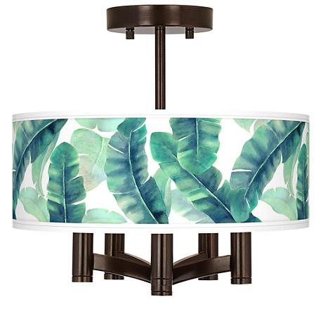 Guinea Ava 5-Light Bronze Ceiling Light