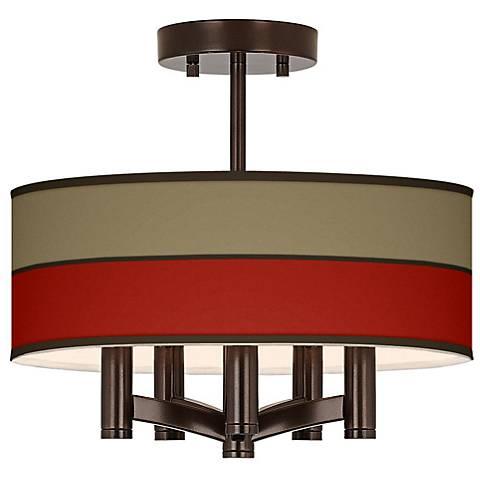 Empire Red Ava 5-Light Bronze Ceiling Light