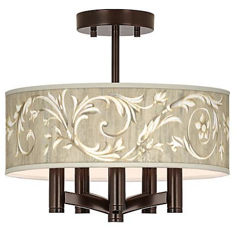 Laurel Court Ava 5-Light Bronze Ceiling Light
