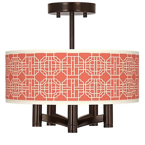 Mandarin Ava 5-Light Bronze Ceiling Light