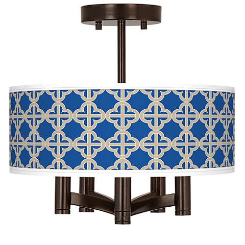Four Corners Ava 5-Light Bronze Ceiling Light