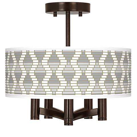 Stepping Out Ava 5-Light Bronze Ceiling Light