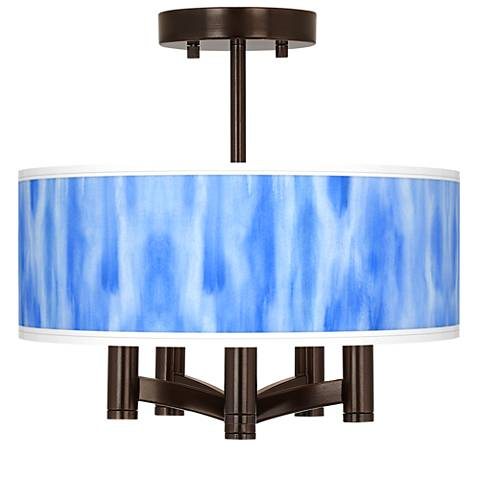 Blue Tide Ava 5-Light Bronze Ceiling Light