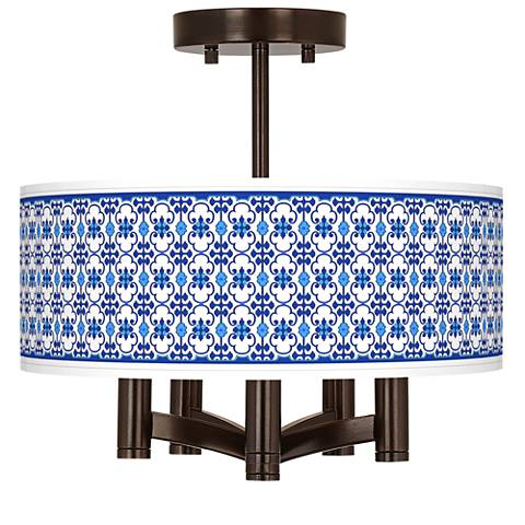Indigo Path Ava 5-Light Bronze Ceiling Light