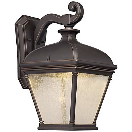 """Lauriston Manor 15 3/4"""" High Bronze LED Outdoor Wall Light"""
