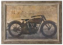 """Uttermost Ride 42"""" Wide Oil Painting Reproduction"""