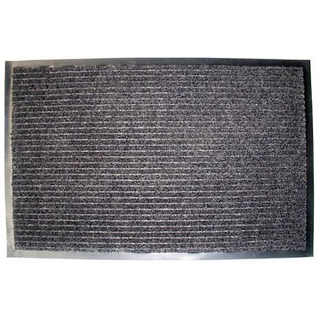 Ribbed Walk Off 2'x3' Charcoal Utility Mat