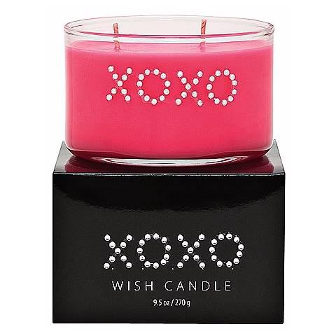 """""""XOXO"""" Hand-Jeweled Wish Candle"""