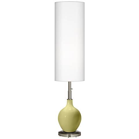Linden Green Ovo Floor Lamp
