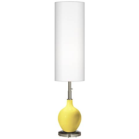 Lemon Twist Ovo Floor Lamp