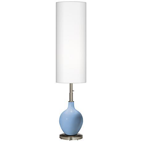 Placid Blue Ovo Floor Lamp