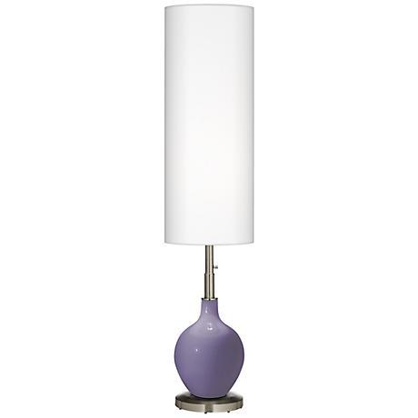 Purple Haze Ovo Floor Lamp