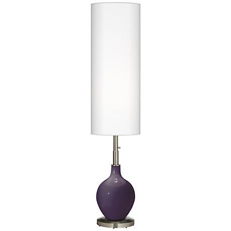 Quixotic Plum Ovo Floor Lamp