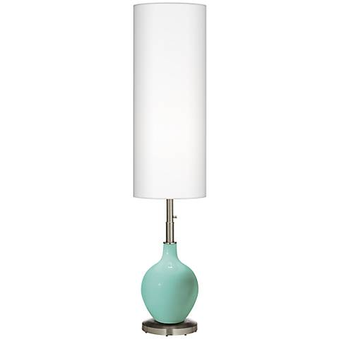 Rapture Blue Ovo Floor Lamp